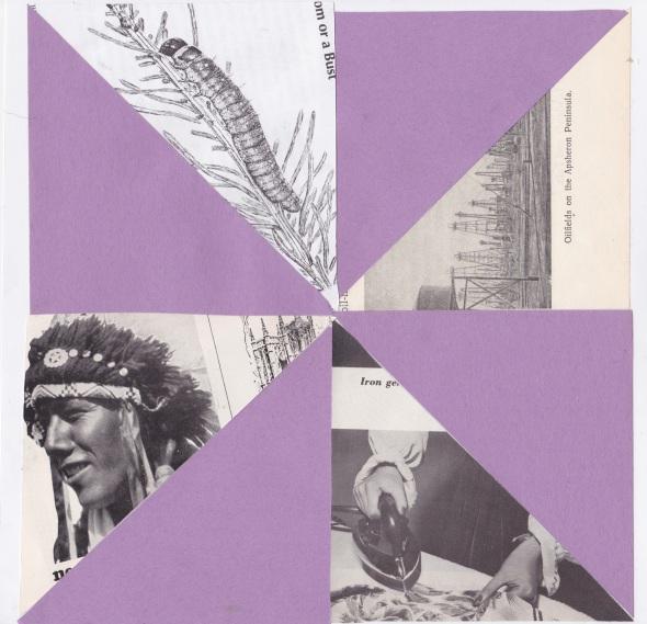 pinwheel purple